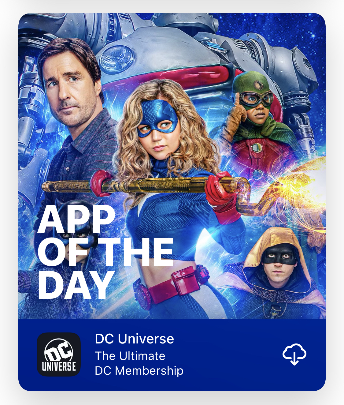 DC Universe: App of the Day